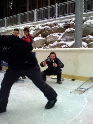 Eisschießen Soviets / Pfalzen 2008