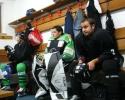 1. Eistraining der Saison 2008/09